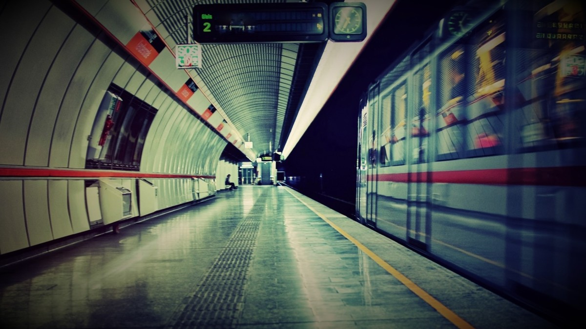 Еду я в метро...
